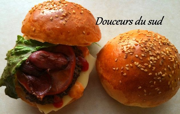 Delicieux Pain hamburger ou bun's