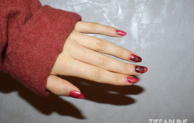 Nail art inspiration indienne