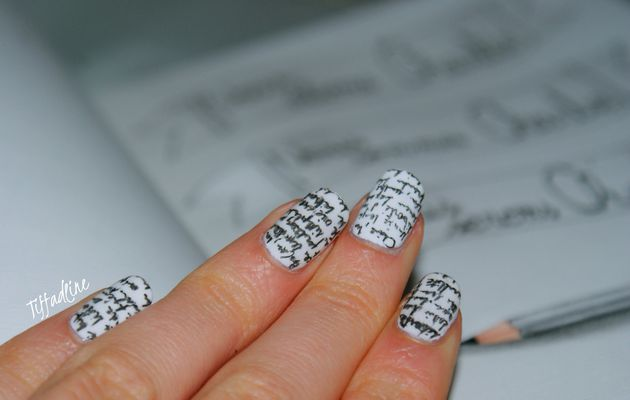 Nailstorming 91 #Je suis Charlie