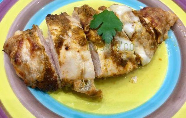Poulet au pesto rosso et mozzarella