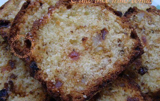 Cake aux fruits confits Recette de Sophie Dudemaine