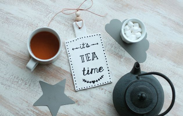 Dessous de plat pour tea party {DIY}