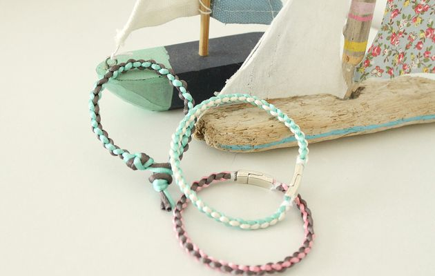 Bracelet kumihimo pour débutants