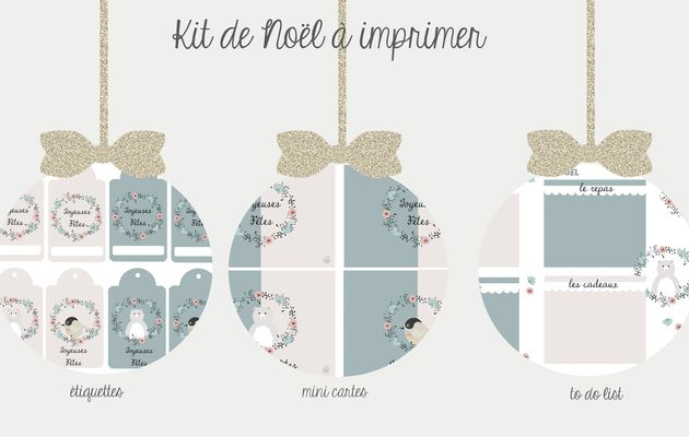 Kit de Noël à imprimer {version 2015}