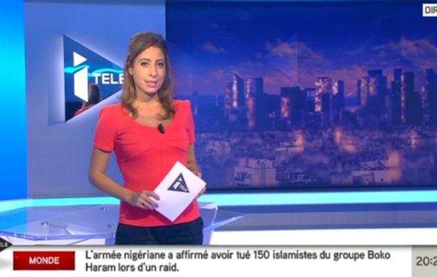 2013 09 18 - 20H30 - LEA SALAME - I>TELE - 100% INFO