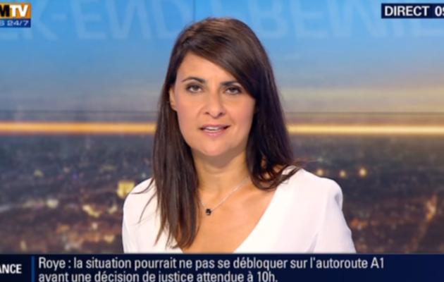 2015 08 29 - SANDRA GANDOIN pour WEEK-END PREMIERE sur bfm tv