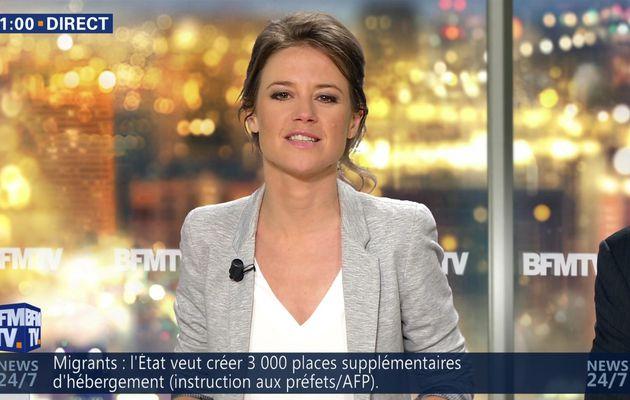 CELINE PITELET pour LE JOURNAL dans NEWS ET COMPAGNIE le 2016 06 30 sur BFM TV