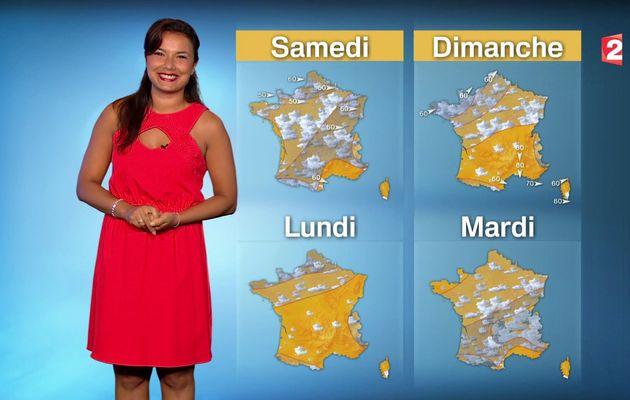 La vidéo de LA METEO d'ANAIS BAYDEMIR le 2016 06 30 SOIR sur FRANCE 2