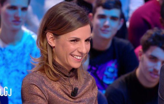 📸 ALICE DARFEUILLE @alicedarfeuille ce soir pour LE GRAND JOURNAL @canalplus #LGJ #vuesalatele