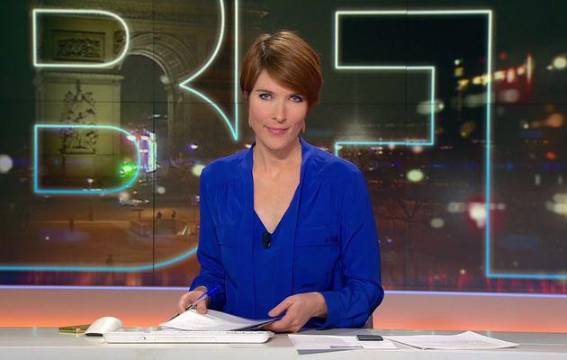 📸11 LUCIE NUTTIN @LucieNuttin @JohannaCarlosD8 ce soir @bfmtv #vuesalatele