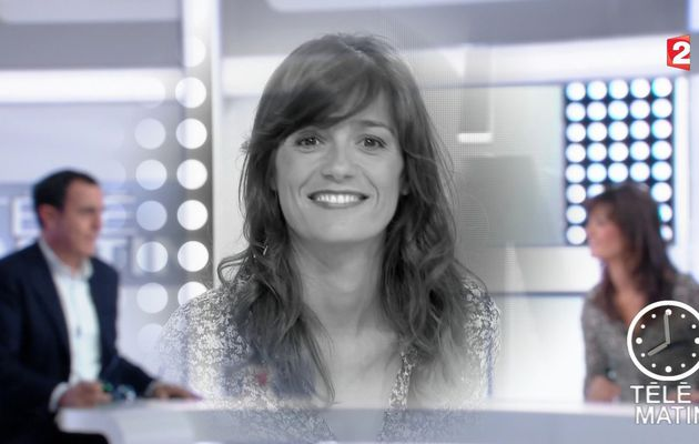 📸19 TANIA YOUNG @telematin @France2tv ce matin #vuesalatele