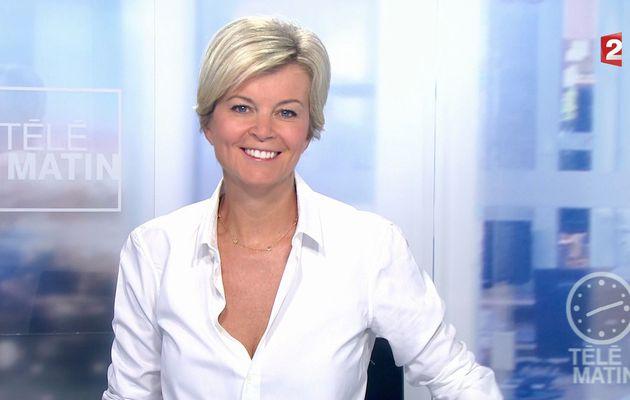 📸15 ESTELLE COLIN pour LE JT de 8H ce matin @telematin @France2tv #vuesalatele