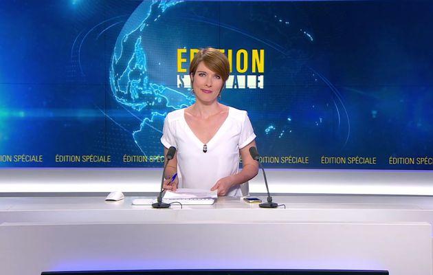 📸5 EDITION SPECIALE LUCIE NUTTIN @LucieNuttin @JohannaCarlosD8 ce soir @bfmtv #vuesalatele
