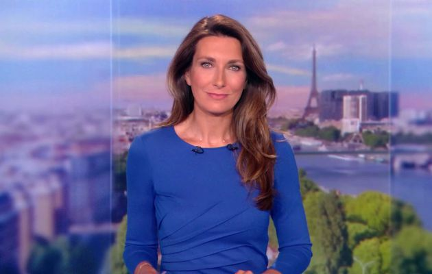 📸11 ANNE-CLAIRE COUDRAY @ACCoudray @TF1 @TF1LeJT pour LE 13H WEEK-END #vuesalatele
