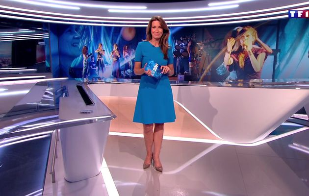 📸31 ANNE-CLAIRE COUDRAY @ACCoudray @TF1 @TF1LeJT pour LE 20H WEEK-END #vuesalatele