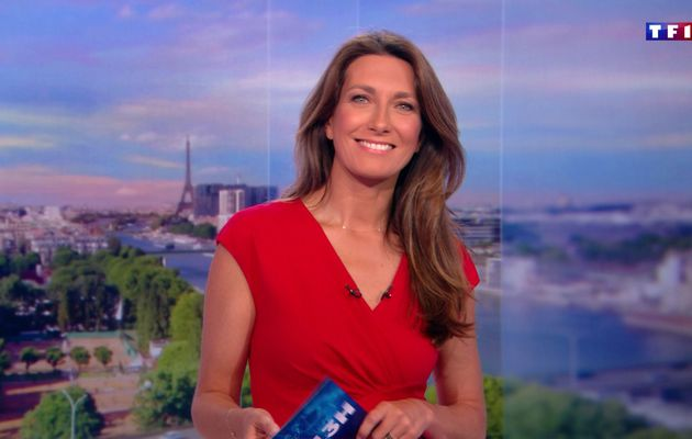 📸30 ANNE-CLAIRE COUDRAY @ACCoudray @TF1 @TF1LeJT pour LE 13H WEEK-END #vuesalatele