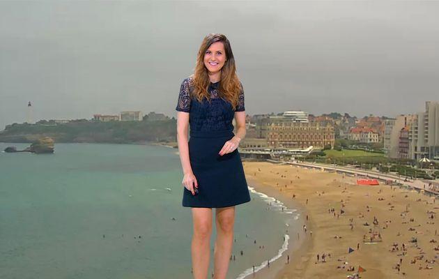 📸6 DANIELA PREPELIUC @Dana_Prepy @JohannaCarlosD8 pour LA METEO @BFMTV #vuesalatele