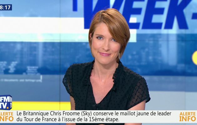 📸12 LUCIE NUTTIN @LucieNuttin @JohannaCarlosD8 ce soir pour WEEK-END DIRECT @bfmtv #vuesalatele