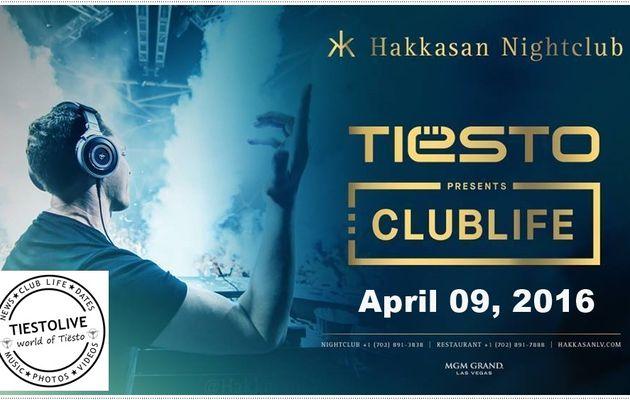 Tiësto date | Hakkasan | Las Vegas, NV - april 09, 2016