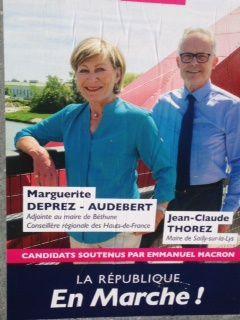 """ON VOUDRAIT SAVOIR: c'est """"Gibson ou Margerite Déprez """":le candidat de la majorité?"""