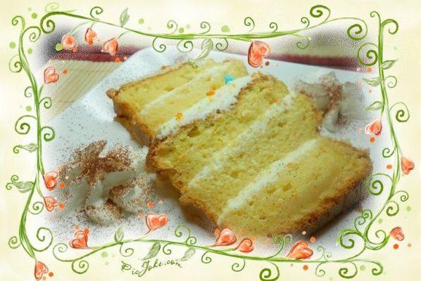 cake a l'orange et mascarpone