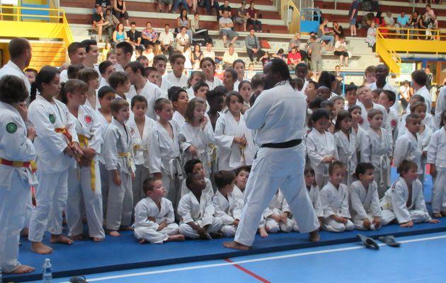 Gala et récompenses pour finir la saison du Judo de Parilly