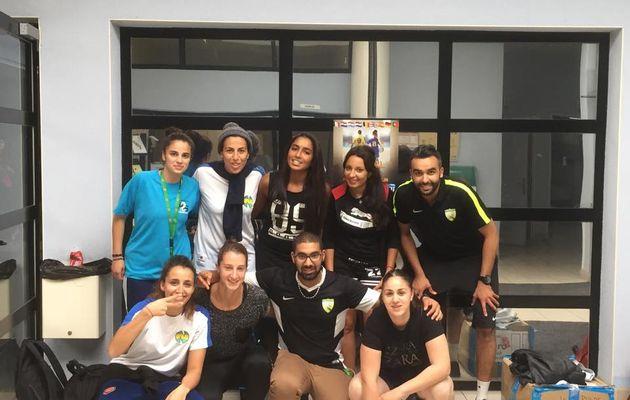 """Les féminines de l'AS Charreard Futsal remportent la finale de consolation du """"Mondial Futsal"""""""
