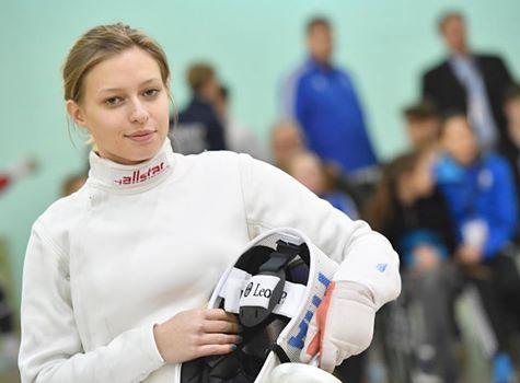 Elodie Garneri 7e aux championnats d'Europe d'épée cadettes féminines