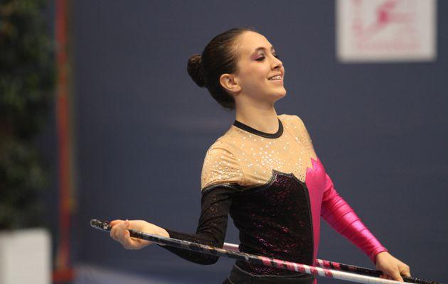 Les jolis visages de la gymnastique rythmique régionale