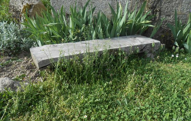 DIY: un banc super simple et tellement pratique