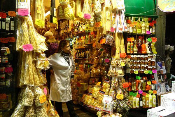 Des pâtes oui mais ...à Naples
