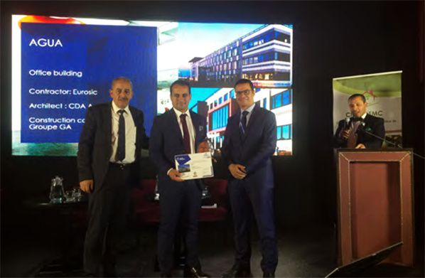 Green Building Solutions Awards: Agua remporte le prix international Smart Building