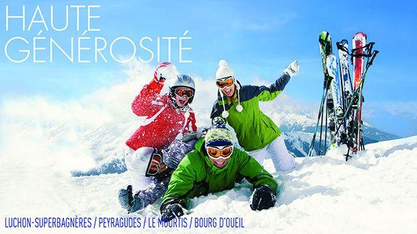 Une journée de découverte au ski pour des jeunes défavorisés