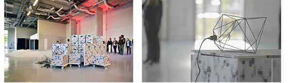Découverte et ouverture des Ateliers d'Artistes Icade  à Aubervilliers