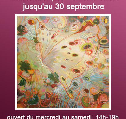 L'exposition Mondes éthériques continue à la Galerie l'Atelier jusqu'au 30 septembre 2017