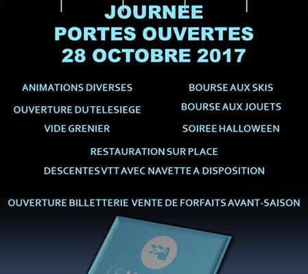 Journée Portes-ouvertes le 28 octobre 2017 à la station du Mourtis