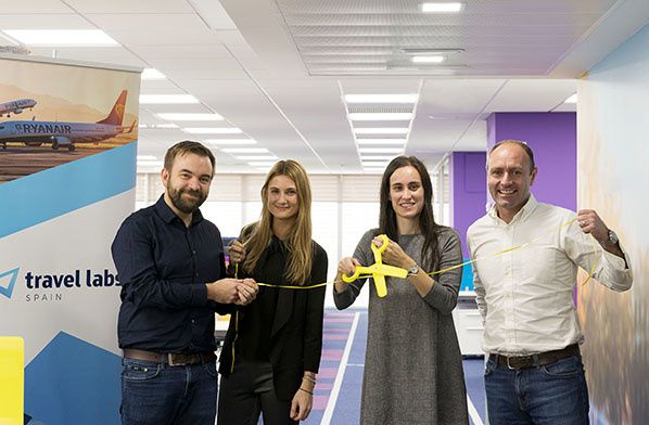 Ryanair opens Travel Labs Spain