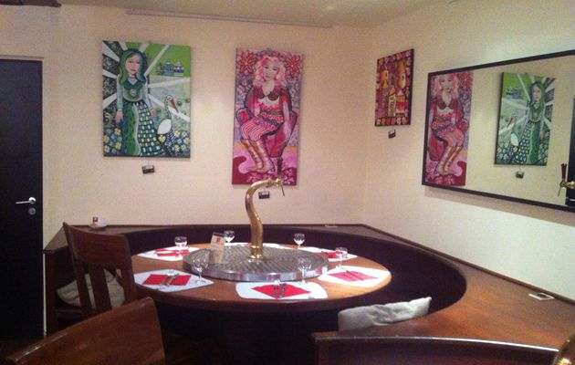 Exposition au restaurant le Scala 08/09 2014