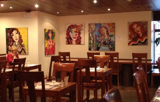 exposition au Restaurant le Scala (suite)