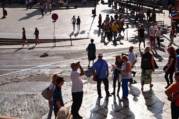 Les touristes