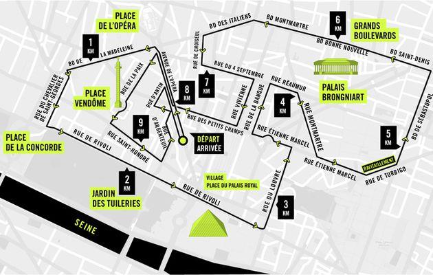 10k Paris Centre Nike J-6