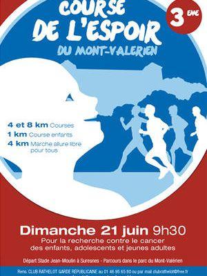 Course de l'espoir du Mont Valérien