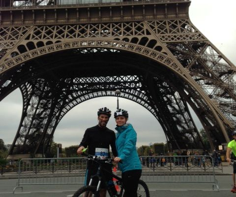 Mon premier Run and Bike: Paris C.R.