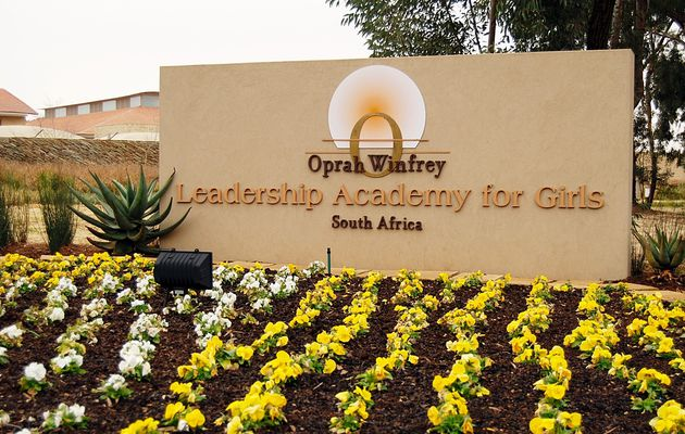 #Leadership •  The Oprah Winfrey Leadership Academy in South Africa