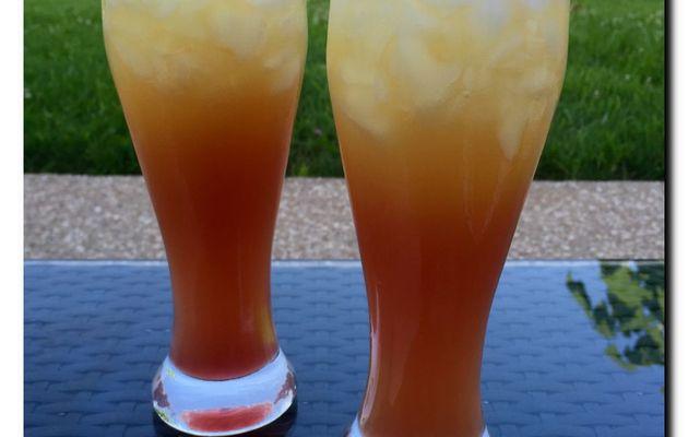 Cocktail Bora Bora (alcoolisé ou pas)