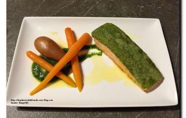 Saumon en croûte d'herbes