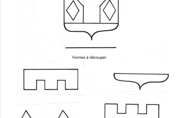 Jeu de Découpage/Collage 72, Blason