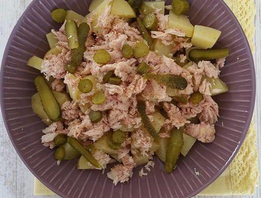Salade express au thon blanc nature pour enfants