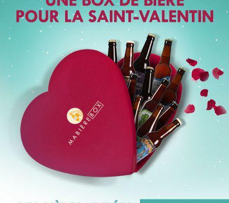Concours de Saint Valentin pour les 1000 articles de mon blog avec MaBiéreBox