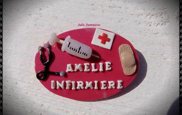 Badge d'infirmière